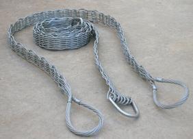 钢丝绳吊带 钢丝绳扁平吊带 包胶钢丝绳