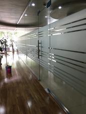 郑州磨砂膜,办公室玻璃贴膜
