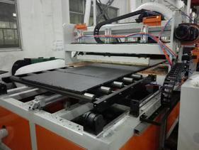 PP三层建筑模板模板生产线