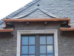 屋面180型金属接水天沟金属檐沟雨水收集沟槽系统
