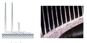 LL缠绕型铝翅片管