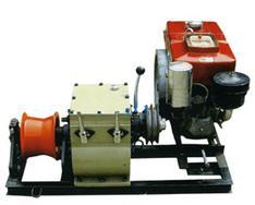 汽油机机动绞磨,2吨机动绞磨机,手动绞磨