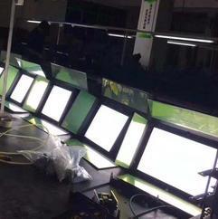 隆耀100W演播室平板灯新闻摄影柔光灯