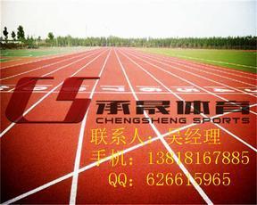 上海sj-13mm塑胶跑道新型环保