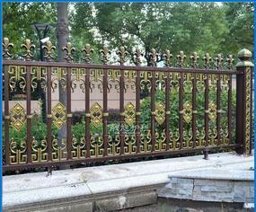 铝艺栅栏 铝合金别墅花园围墙护栏 高档欧户外庭院围栏