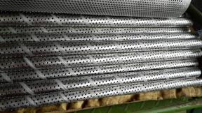 出口直缝焊滤芯骨架