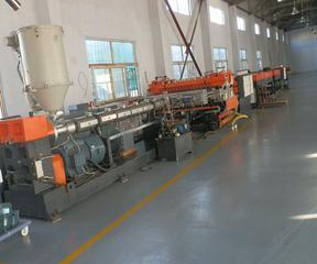 PP建筑模板设备,中空建筑模板生产线