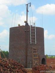 55米磚煙囪新建