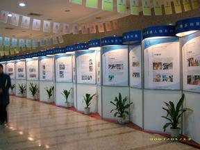 广东展览器材销售和租赁 展览屏风设计制作
