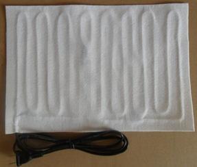 无纺布发热片 针扎棉发热片保温性能好