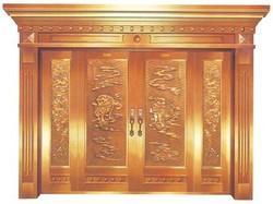 全铜别墅大门