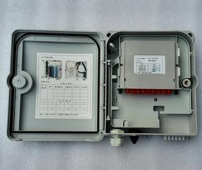 FTTH插片式光分路器箱 分光箱光纤分光器