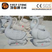 花岗岩天鹅雕像石钵GGV270A+B+C