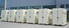 厂家供应大型不锈钢双门恒温鼓风烘箱