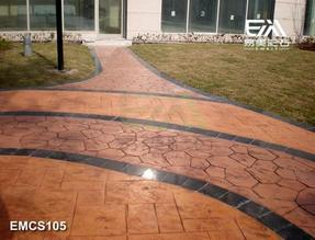 江苏混凝土仿木《石》,彩水泥压印《模》,压印《模》路面材料模具价格突破视觉
