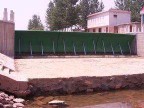 橡胶坝 翻板门坝 溢流坝 滚水坝