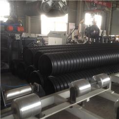 hdpe钢带增强聚乙烯螺旋波纹管洛阳国润新材