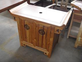 重庆禅意新中式书柜储物柜茶叶柜明式仿古多宝阁实木书架茶室家具