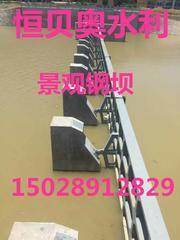 恒贝奥水利专业生产景观钢坝 高链式格栅除污机 螺旋压榨输送机 拦污栅 节能型侧翻拍门