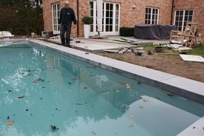 欧洲家用游泳池装修