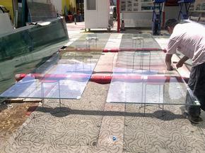玻璃幕墙贴防爆膜,韩国进口膜