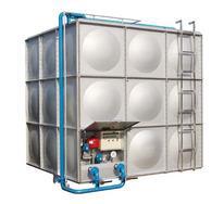组合式不锈钢水箱北京麒麟水箱公司