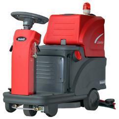 北京自动洗地机XD80物业小区电动驾驶式洗地机厂家供应