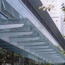 夹胶玻璃雨棚钢结构雨棚