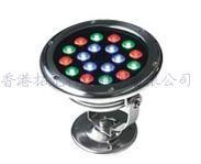 可用DMX512控制和自联机自动变色水景场所专用水底灯