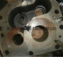 天津汉钟RC-2-410螺杆式压缩机进水维修