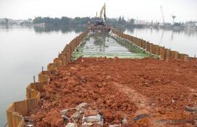 钢板桩支护围檩制作施工全承包