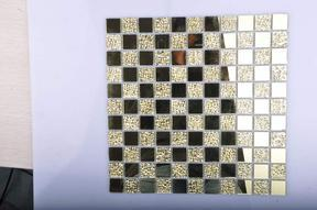 镜面玻璃马赛克 金镜金钻 jm301