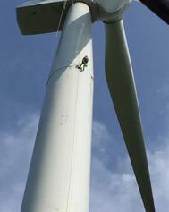 风电塔筒防水维护