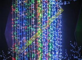 春节装饰彩灯,节日景观装饰灯串,亮化工程彩灯,挂树莎彩加工,led彩灯