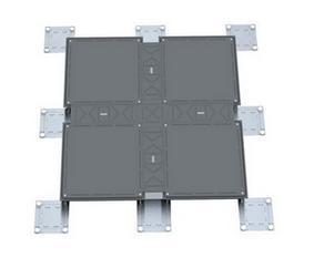 朗逊扣槽式OA全钢网络地板超低型