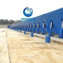 引领水利革新 优质高效拦水坝  替代了橡胶坝  翻板坝
