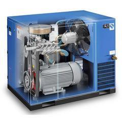 南京地区鲍斯螺杆空压机家具厂专用18KW螺杆空压机