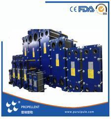 250kw供暖用板式换热器市场价格 0.5mm/304/EPDM/DN32