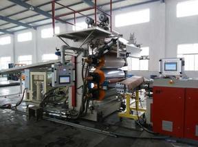 博宇SPC石塑地板生产线设备新技术