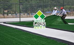 人造草坪足球场施工
