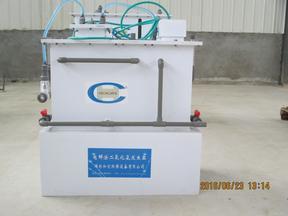 电解二氧化氯发生器示意图