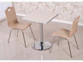 专业的餐厅桌椅订制厂家 深圳快餐厅桌椅供应商