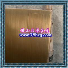 不锈钢拉丝古铜 古铜色不锈钢拉丝板