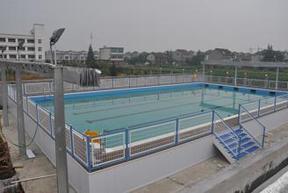 深圳水利方可拆装式整体泳池