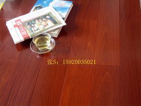深圳红檀香实木地板 红檀香地板批发价格