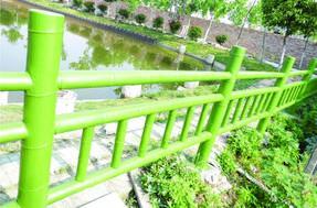 景观水泥仿竹栏杆