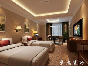 重庆酒店装修设计、重庆爱港装饰
