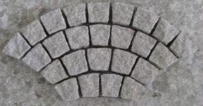 花岗岩扇形地坪铺装 HZY104
