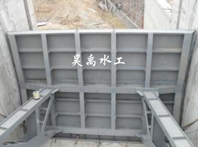 闸门弧形钢闸门5X8m