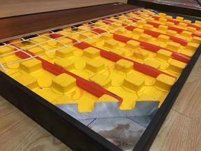 四川地暖模块 干式地暖模块 九菲黄金甲地暖模块厂家